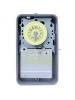 Intermatic T101R - 24 Hr. Dial Time Switch - NEMA 3R Raintight Steel Case - Gray Finish - SPST - 40 Amps - 125 Volt